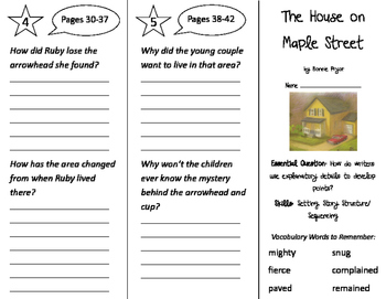 The House on Maple Street Trifold - ReadyGen 2nd Grade Uni