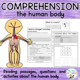 The Human Body Literacy Comprehension Pack