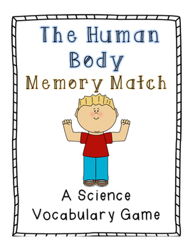 The Human Body Memory Match: A Science Vocabulary Game