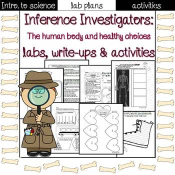 The Human Body lab sheets and activities