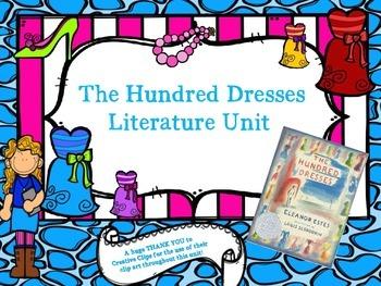 The Hundred Dresses Literature Unit
