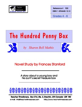 The Hundred Penny Box by Sharon Bell Mathis: Novel study f