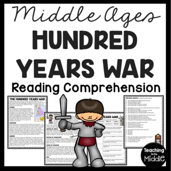 The Hundred Years War article, questions, Middle Ages, Eur