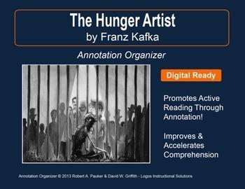 """""""The Hunger Artist"""" by Franz Kafka: Annotation Organizer"""