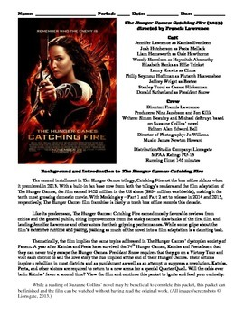 The Hunger Games: Catching Fire Film (2013) Study Guide Mo