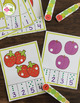 Caterpillar Counting Clip Cards