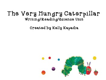 The Hungry Caterpillar Sentence Building and Picture Icons