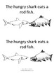 The Hungry Shark: an emergent reader about colors
