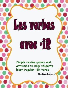 The -IR verb book