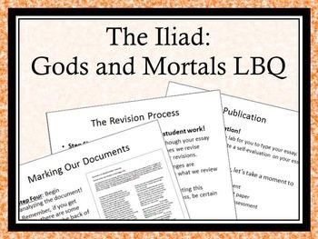 The Iliad - Gods and Mortals - Literature-Based Question E