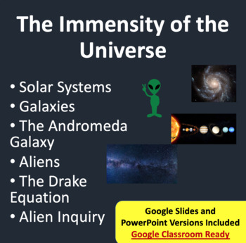 The Immensity of the Universe - Space PowerPoint Lesson &