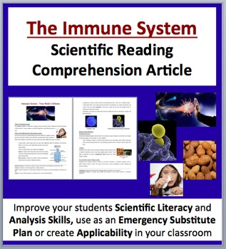 The Immune System - The Body's Defense - Science Reading Article