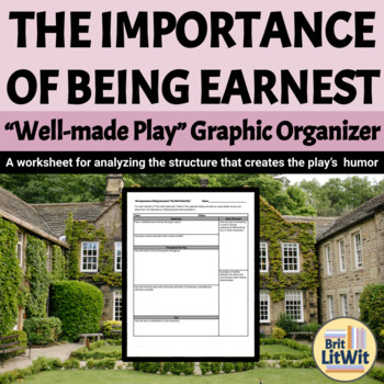 The Importance of Being Earnest (Wilde) Graphic Organizer: