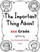 The Important Thing About XXX Grade - An End-of-the-Year C