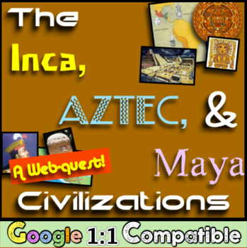 Inca, Aztec, and Maya Civilizations!  A Webquest Over Meso
