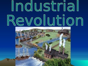 The U.S. Industrial Age 215 Slides!  Huge History Power Po