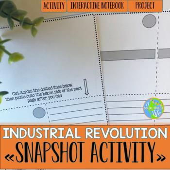 Industrial Revolution Snapshot Foldable
