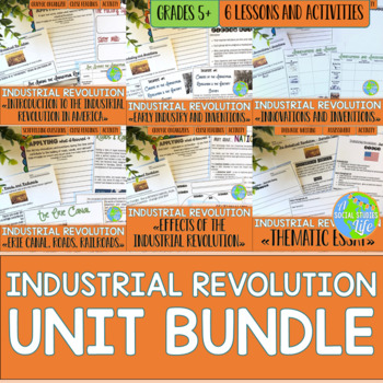 Industrial Revolution UNIT BUNDLE {middle grades}