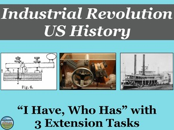 The Industrial Revolution in the United States Review Game