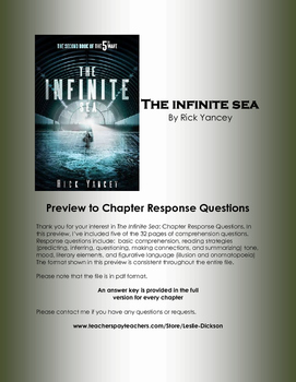 The Infinite Sea Chapter Response Questions