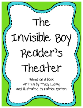 The Invisible Boy Reader's Theater