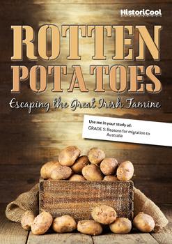 The Irish Potato Famine & Migration Push/Pull Factors Reso