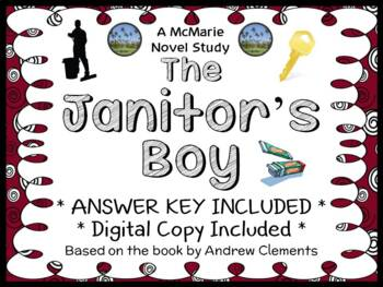 The Janitor's Boy (Andrew Clements) Novel Study / Reading