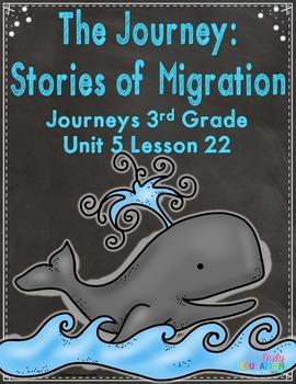 The Journey: Stories of Migration Journeys 3rd Grade Activ