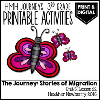 The Journey, Stories of Migration: Journeys 3rd Grade (Uni