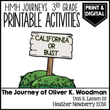 The Journey of Oliver K. Woodman: Journeys 3rd Grade (Unit