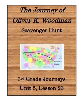 The Journey of Oliver K. Woodman Scavenger Hunt (Journeys