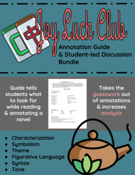 The Joy Luck Club Annotation Guide and Student-led Discussions