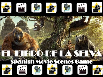 The Jungle Book Fun Spanish Movie Scenes Electronic Game -