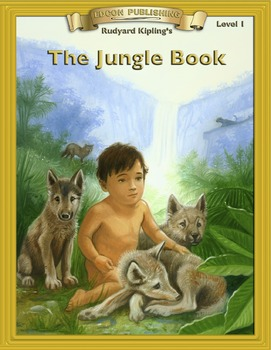 The Jungle Book RL1.0-2.0 flip page EPUB for iPads, iPhone