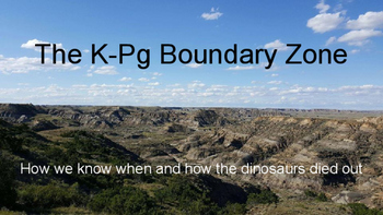 The K-Pg (K-T) Boundary Zone: How we know when and how the