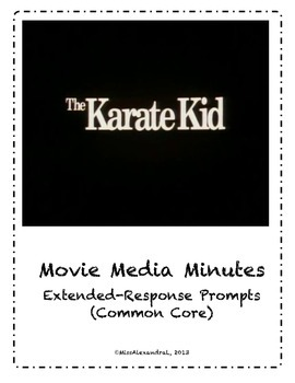 The Karate Kid ~ Movie Questions & Extended Response Prompts