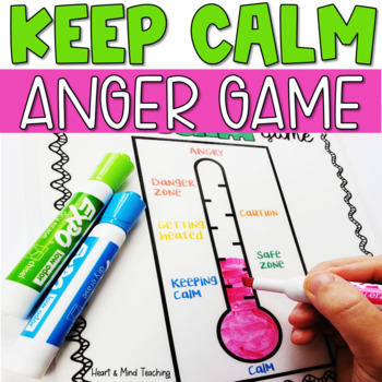 The Keep Calm Game for Anger Management; coping skills, SE