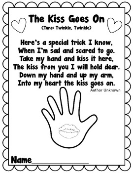 The Kiss Goes On- Poem Freebie