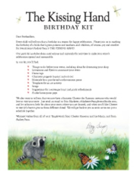 The Kissing Hand Birthday Party Kit