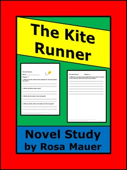 The Kite Runner Reading Comprehension Questions