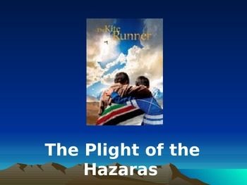 The Kite Runner The Plight of the Hazaras