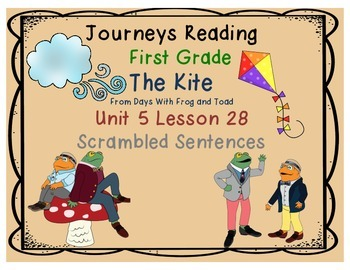 The Kite from Days With Frog & Toad Scrambled Sentences Un