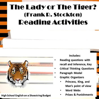 The Lady, or The Tiger? Reading Activities (Frank Stockton)