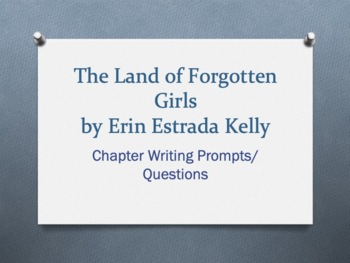 The Land of Forgotten Girls, by Erin Estrada Kelly. Chapte