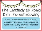 The Landlady (Short Story) - Foreshadowing (Editable)