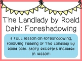 The Landlady (Short Story) - Foreshadowing
