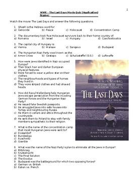 The Last Days Quiz