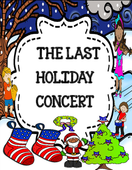 The Last Holiday Concert ( by Andrew Clements) - Novel Study