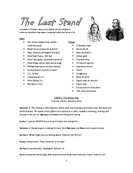 Reader's Theater Play - The Last Stand: The Battle of Litt