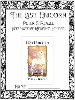 The Last Unicorn - Complete Novel Unit